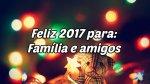 Vídeo para desejar Feliz 2017!