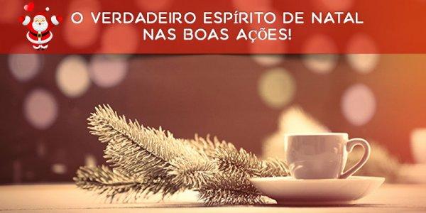 Bom dia de Natal - O verdadeiro espírito de Natal nas boas ações!