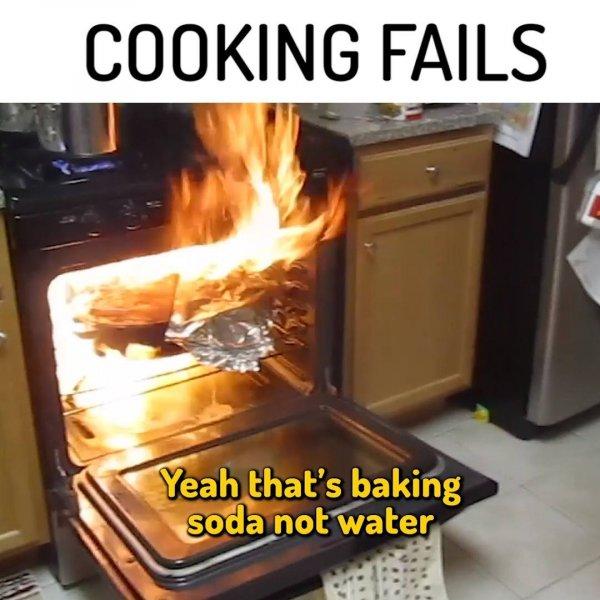 Coisas que deram erradas na cozinha, impossível de acreditar hahaha!