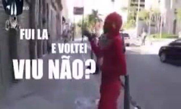 Veja a velocidade do The Flash Brasileiro, é impressionante kkk!