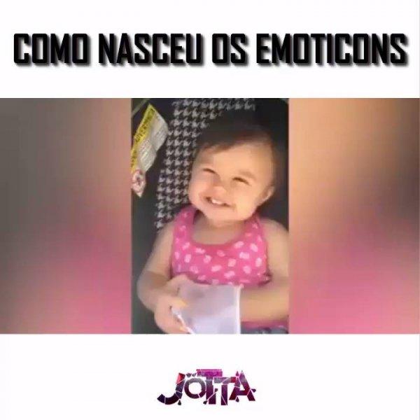 Crianças e Emoticons - Um mais fofinho que o outro, confira!