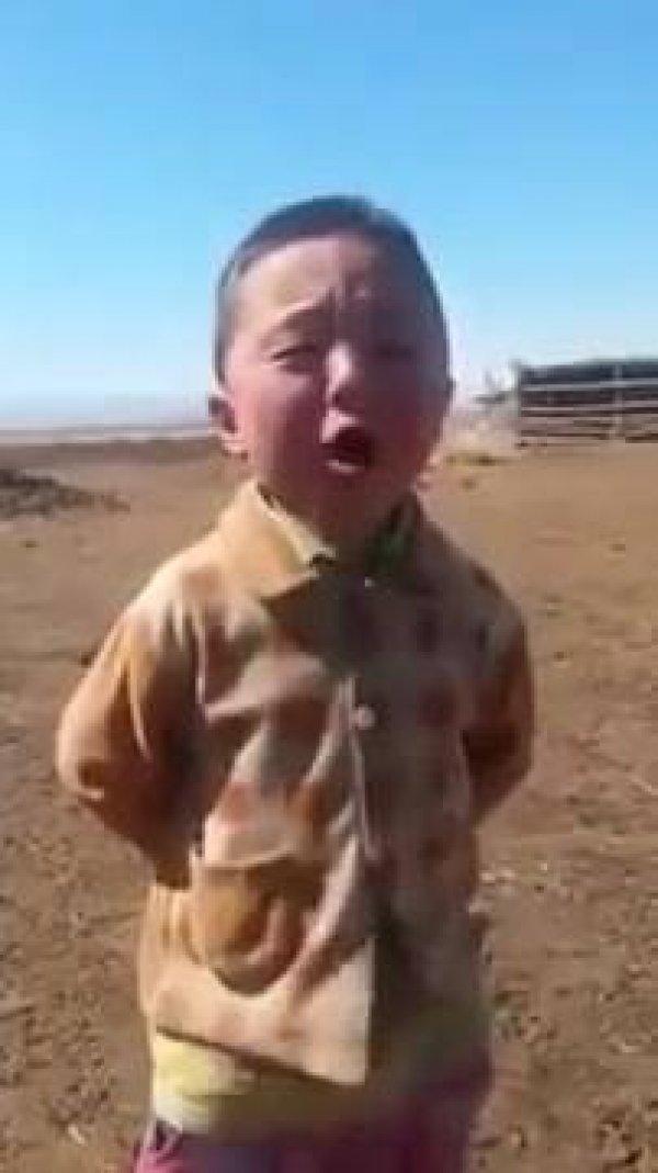 Garotinho cantando com a alma, já viu tanto sentimento assim numa canção?