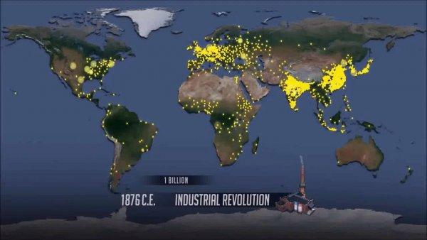 Crescimento da população, onde vamos parar com tanta gente em pouco espaço?