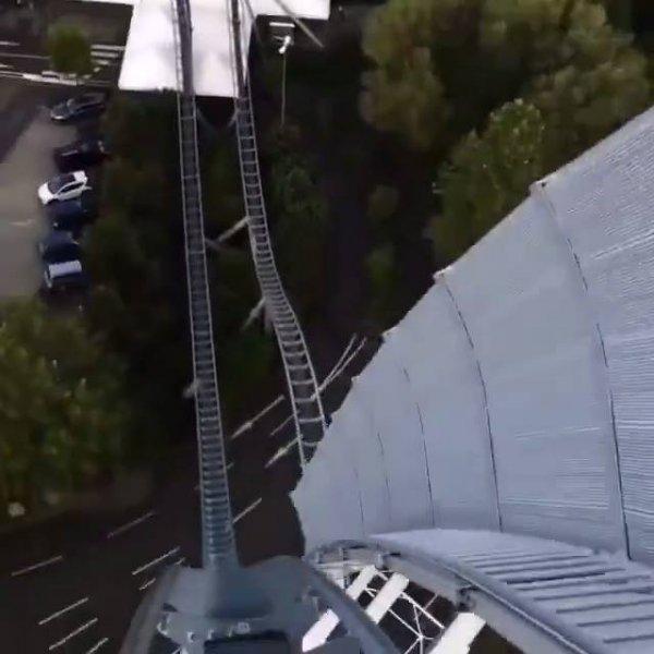 Montanha russa do Europa Park localizado na Alemanha, impressionante!!!