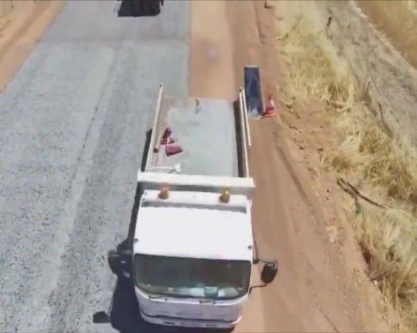 Nova forma que esta sendo usada para asfaltamento de rodovias!