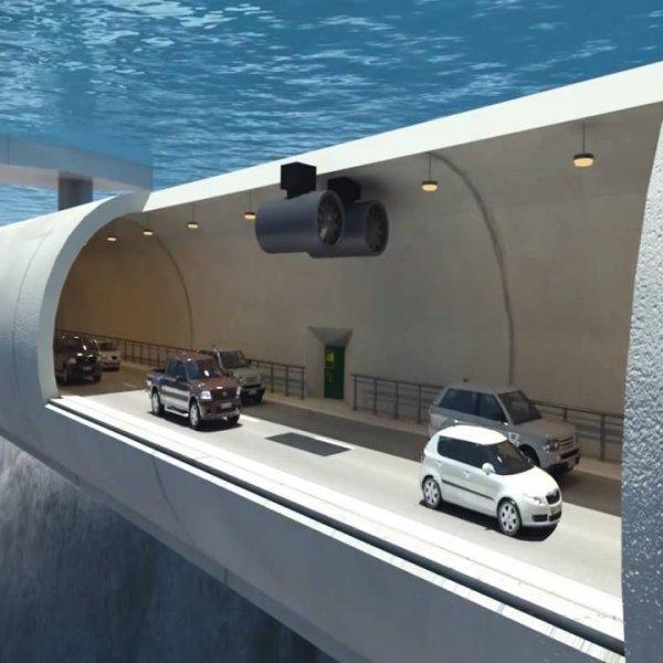Projeto de uma rodovia que passar por dentro do mar, será que isso é verdade?