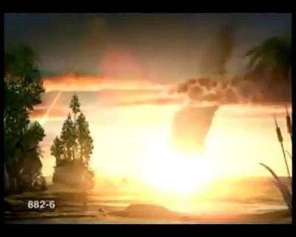 Vídeo impressionante mostrando simulação da extinção dos dinossauros!!!