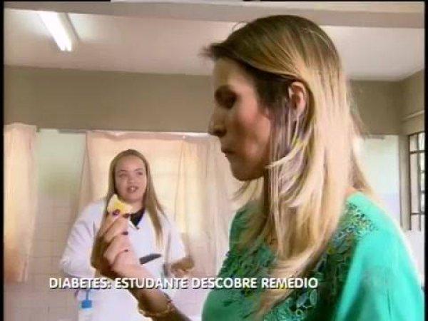 Estudante descobriu um tratamento para diabetes, vale a pena conferir!!!