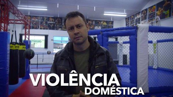 Família não é para virar um ringue - Denuncie qualquer violência no lar!