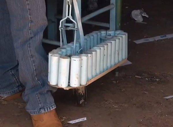 Inovação no campo - Veja o equipamento para plantio de mudas!
