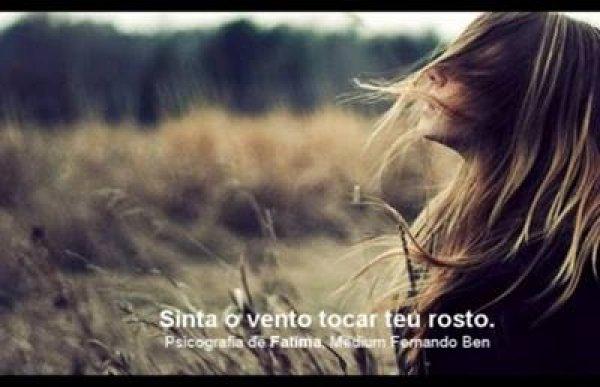 Linda psicografia de Fátima, escrita por médium Fernando Ben!!!