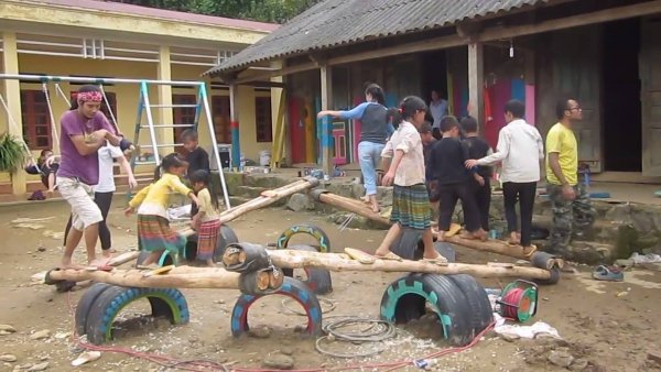 Veja o playground dessas crianças, até os adultos querem brincar!