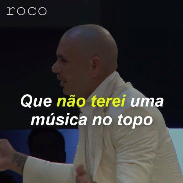 Vídeo com mensagem muito interessante do cantor Pitbull, vale a pena conferir!!!