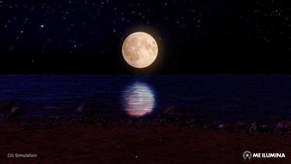 Como é o Eclipse total da lua de sangue? Veja uma simulação neste video!