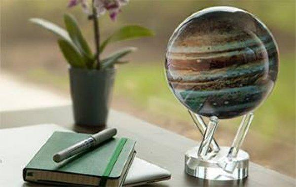 Globo de Júpiter gira com apenas o campo magnético da terra!
