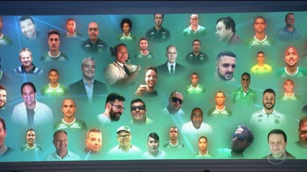 Homenagem do Jornal Nacional às vítimas da queda do avião da Chapecoense!