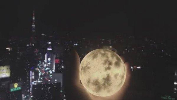 Miniatura de lua simplesmente linda! Olha só que legal este objeto!!!