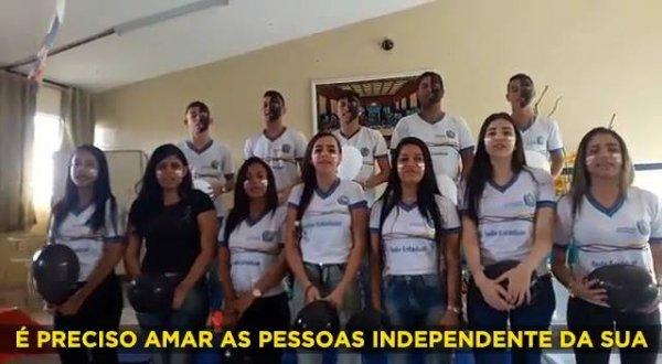 Video contra o racismo, Escola Professora Jesuína Pereira Rêgo!