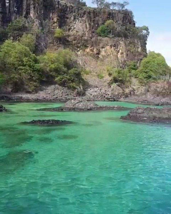 Fernando de Noronha um lugar cercado de paisagem natural, muito lindo!!!
