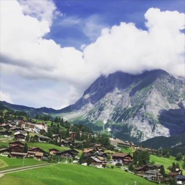 Grindelwald uma pequena comunidade na Suíça, com grandes encantos!!!