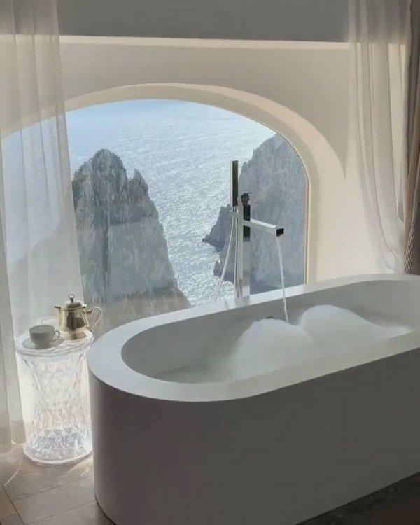 Hotel com uma paisagem natural de tirar o folego, veja que lindo!!!