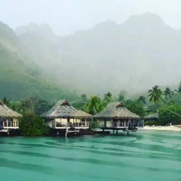 Lugar maravilhoso na Polinésia Francesa, um paraíso na terra confira!!!