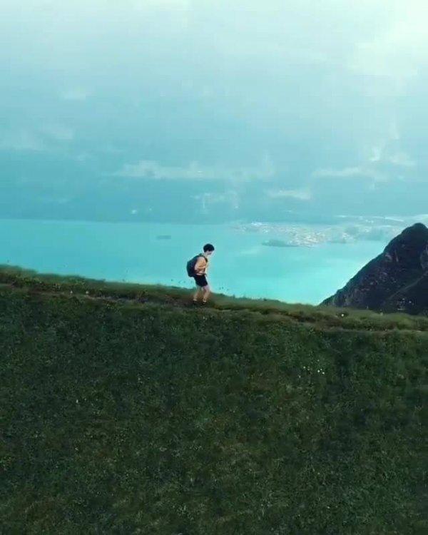 Montanha em algum lugar na Europa, a natureza é espetacular!!!