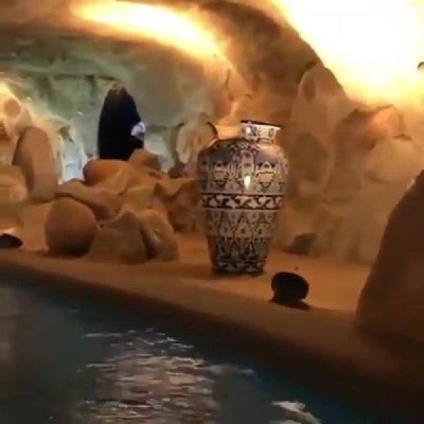 Resort em cavernas no México, veja que lugar maravilhoso, a natureza é linda!!!
