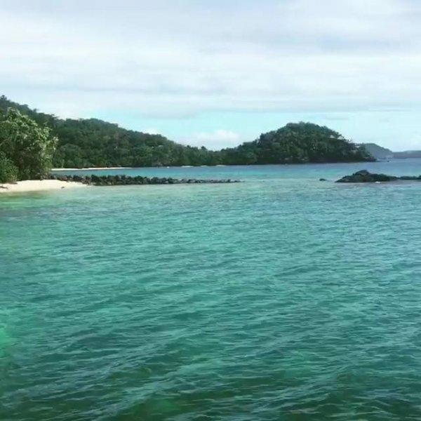 Resort Laucala Island é único e exótico em Fiji, é um lindo cenário!