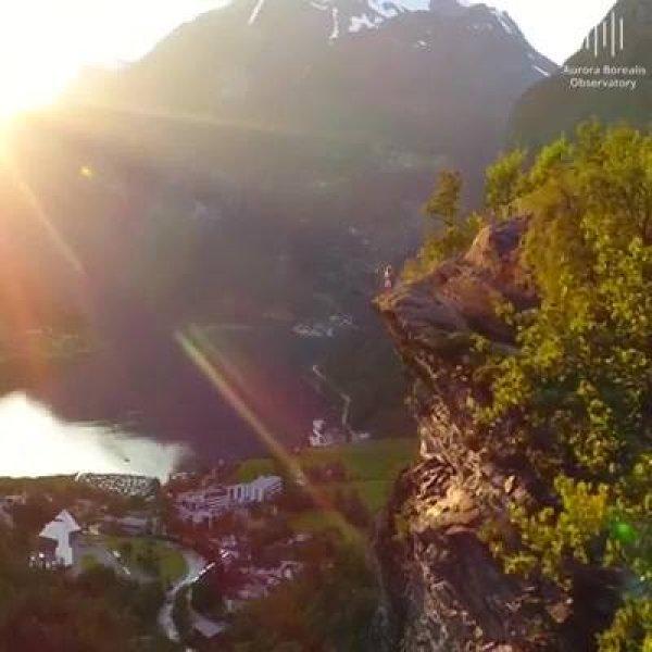 Vídeo mostrando as belezas da Noruega, a natureza e maravilhosa!!!