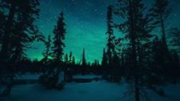 Vídeo mostrando aurora boreal na Finlândia, veja que imagens magnificas!!!