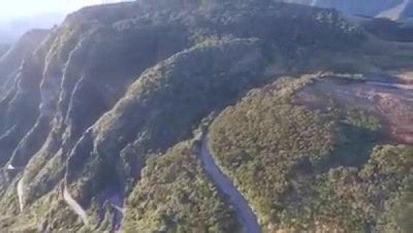 Vídeo mostrando Serra do Rastro que se encontra em Santa Catarina!!!