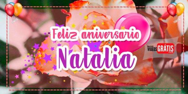 Feliz Aniversário Natália! Mensagem de Feliz Aniversário personalizado grátis!!!
