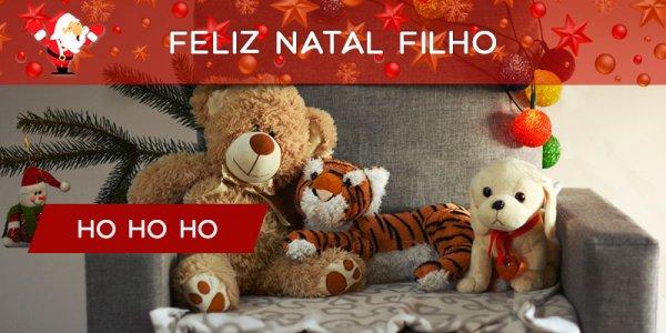 Mensagem de Feliz Natal para filho! Que seu Natal seja cheio de paz!!!