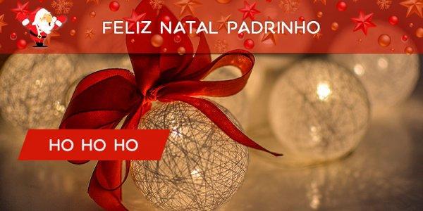 Mensagem de Feliz Natal para padrinho, obrigado por estar ao meu lado!!!