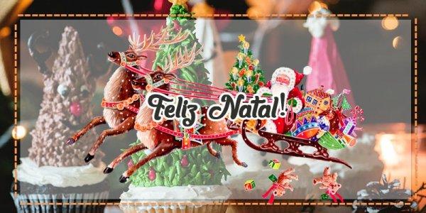 Mensagens de feliz natal abençoada família - Feliz Natal, abençoada família!