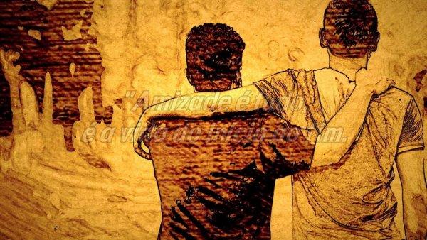 Mensagem de Amizade - Amizade é doação, é amor, compreensão e perdão!