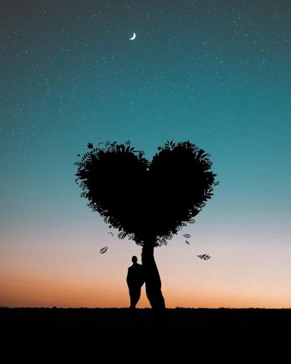 Mensagem de amor e saudade - Por você espero o tempo que for...