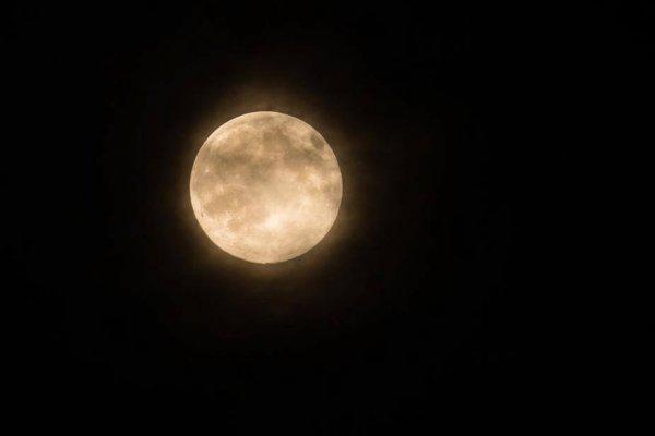 Vídeo de Boa Noite com imagem de lua cheia para os apaixonado pela lua!!!