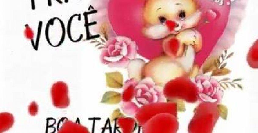 Mensagem De Boa Tarde Para Enviar Através Do Whatsapp: Mensagem De Boa Tarde Com Carinho E Muitos Corações Para