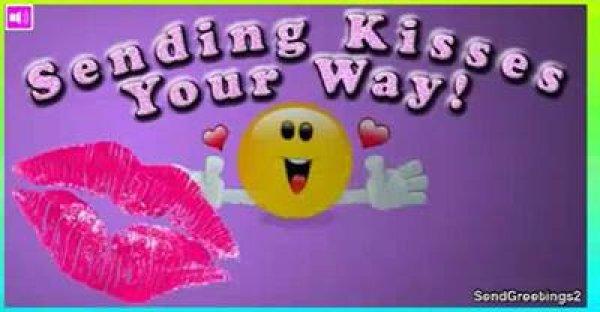 Mensagem de Bom Dia para namorado! Só passando para te mandar um grande beijo!!!