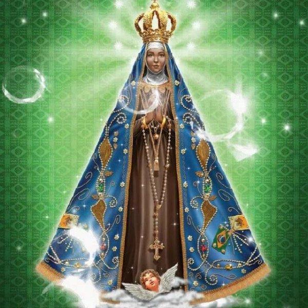 Dia 12 de Outubro faça uma oração a Nossa Senhora Aparecida!