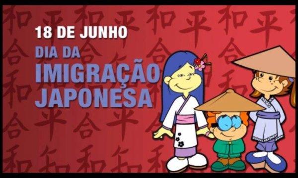 Dia 18 de Junho é Dia da Imigração Japonesa - Vamos celebrar essa união!