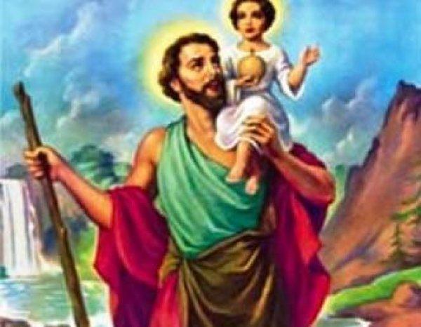 Dia 25 de Julho Dia de São Cristóvão o protetor dos motoristas e viajantes!!!