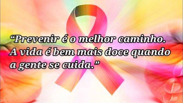 Frases para Outubro Rosa - Frases de motivação contra o câncer de mama!