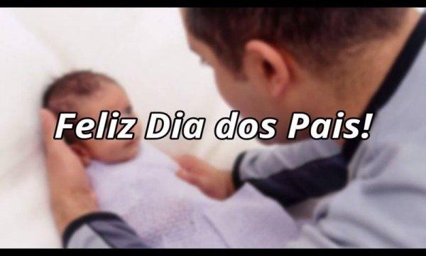 Mensagem dia dos pais para marido, você é o pilar desta família!