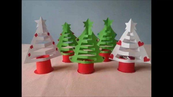Arvore de natal em papel para decorar a sua casa, seu natal mais lindo!