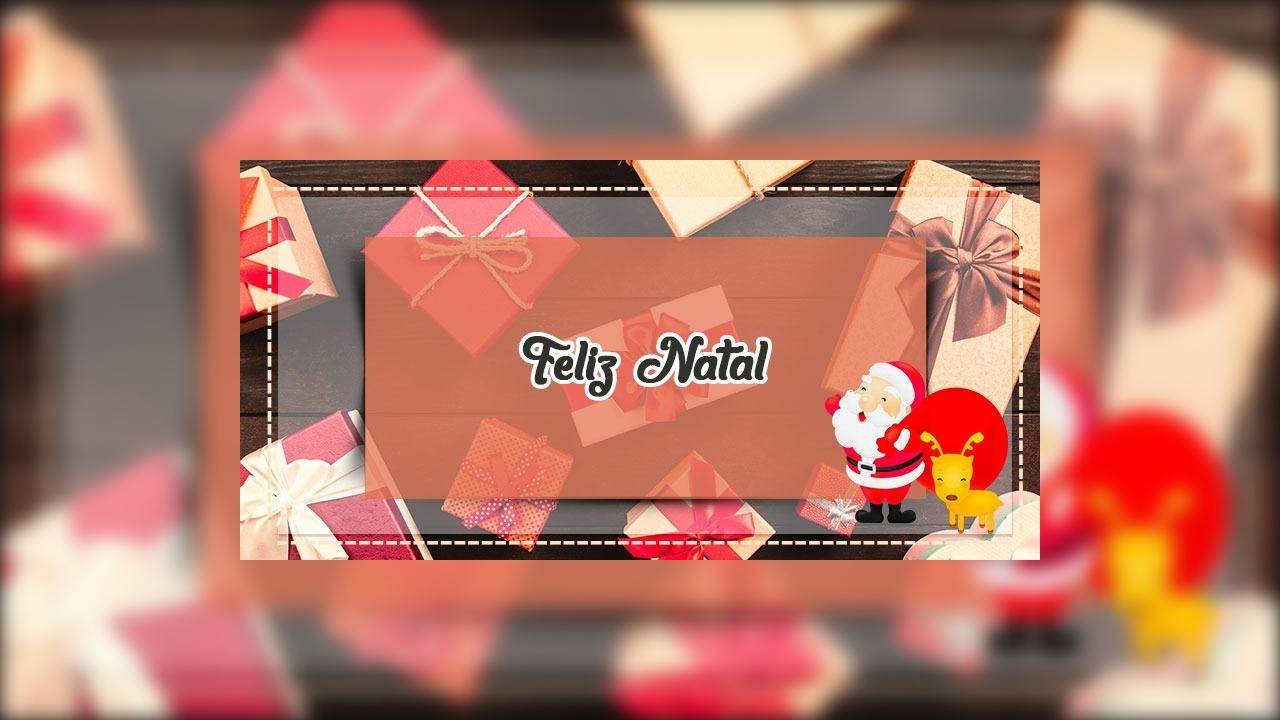 Mensagem de Feliz Natal em harmonia e ano novo com conquistas!