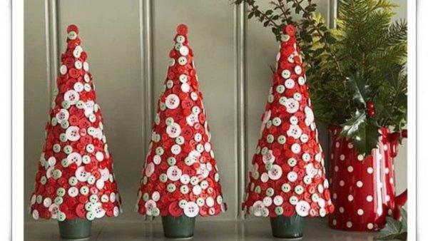 Mini árvores de Natal para te inspirar, desperte a sua criatividade!