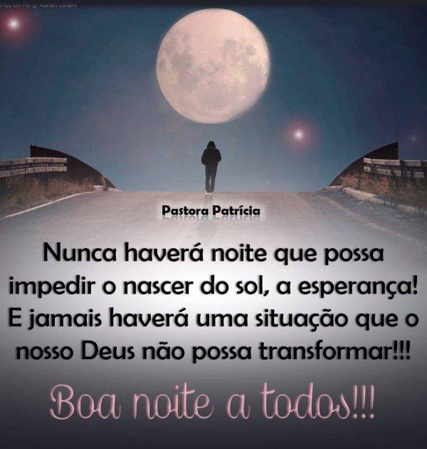 Mensagem de boa noite gospel, nada parece impossível com Deus no coração!